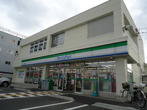コンビ二:ファミリーマート 関西外大前店 478m