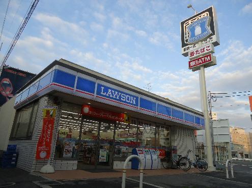 コンビ二:ローソン 枚方西禁野店 1075m