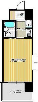 ※間取りは703号室のものになります。