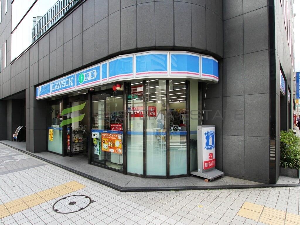 コンビ二:ローソン H八丁堀四丁目店 173m
