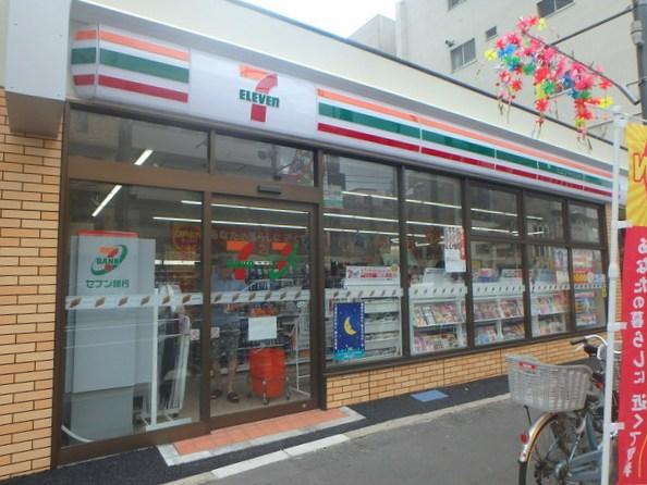 コンビ二:セブンイレブン 江東扇橋2丁目店 68m