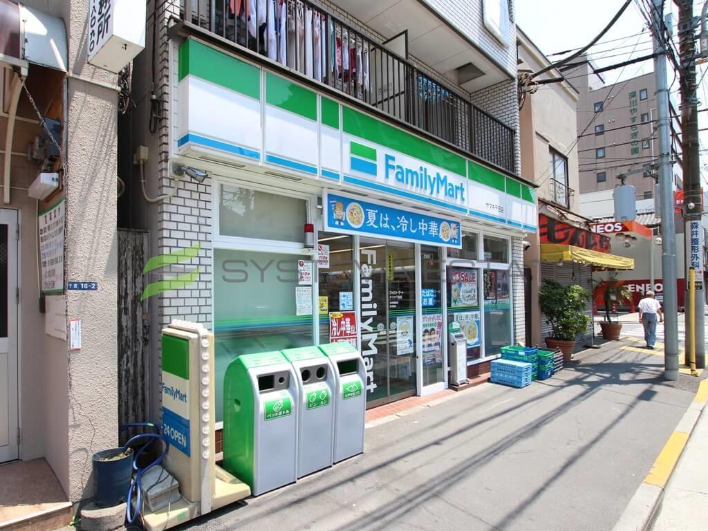 コンビ二:ファミリーマート ヤマキ千田店 181m