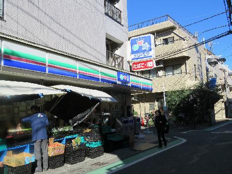 コンビ二:スリーエフ 世田谷船橋店 617m