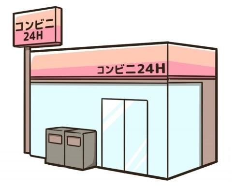 コンビ二:ローソン 下関稗田中町店 571m