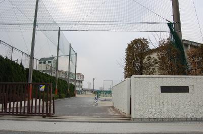 中学校:青葉中学校 550m