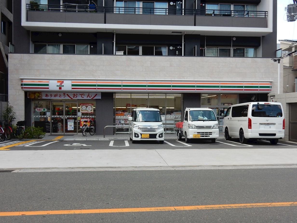 コンビ二:セブンイレブン 大阪東野田町5丁目店 396m
