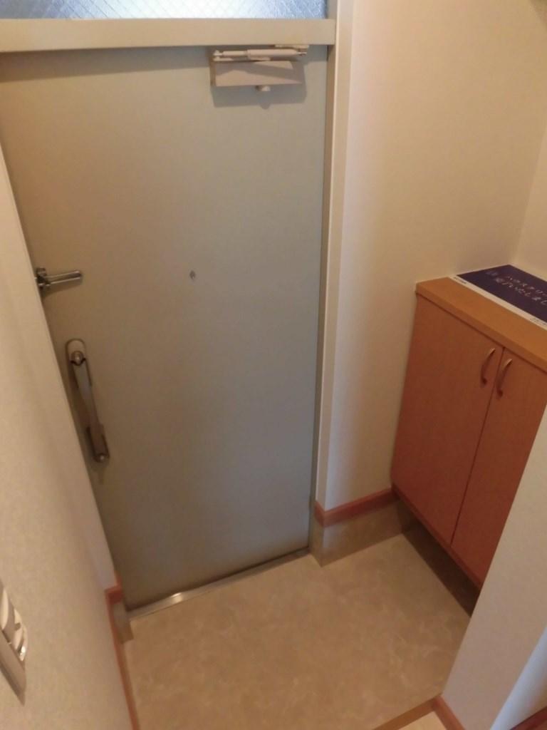 広々とした玄関です。