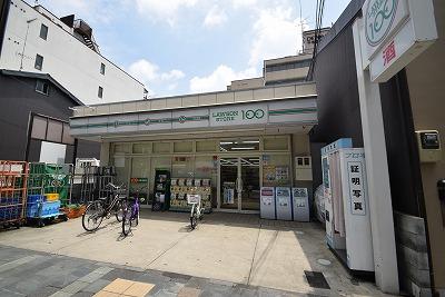 スーパー:ローソンストア100 千本今出川店 459m