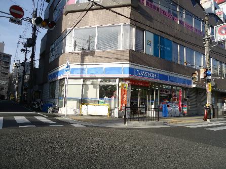 コンビ二:ローソン 枚方岡東町店 586m