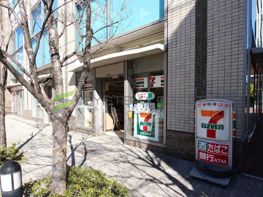 コンビ二:セブンイレブン 中央区新川1丁目店 203m