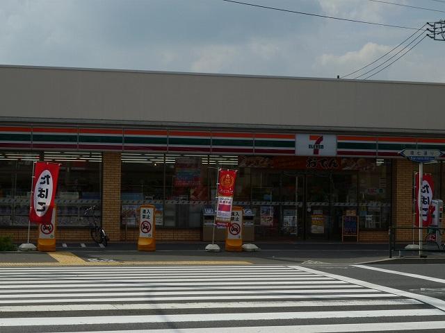 コンビ二:セブンイレブン目黒環七柿の木坂店 240m