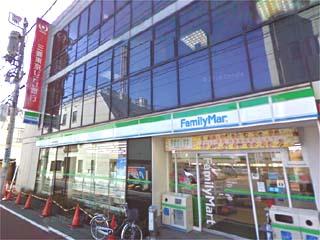 コンビ二:ファミリーマート 学芸大学駅東店 300m