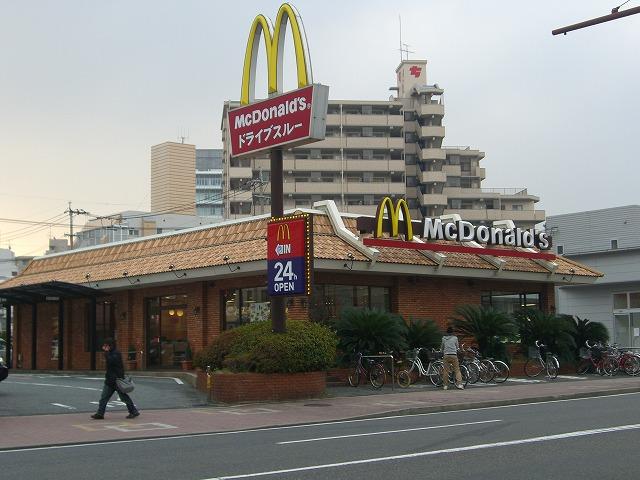 レストラン:マクドナルド 到津店 175m