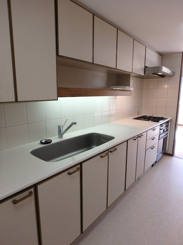 3口ガスコンロ・オーブン付システムキッチン
