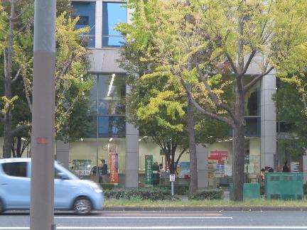 郵便局:なにわ筋新町郵便局 229m