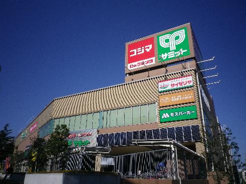 スーパー:サミットストア 成城店 332m