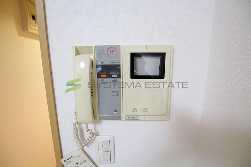 モニター付きインターホン洗濯機置場