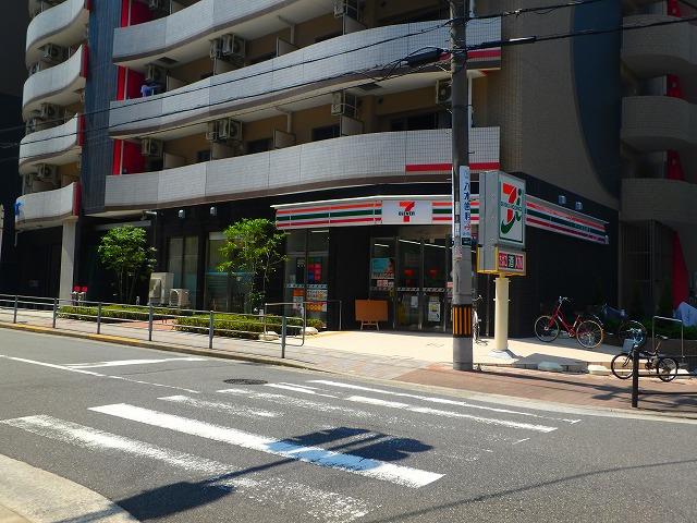 コンビ二:セブンイレブン 大阪島町2丁目店 187m