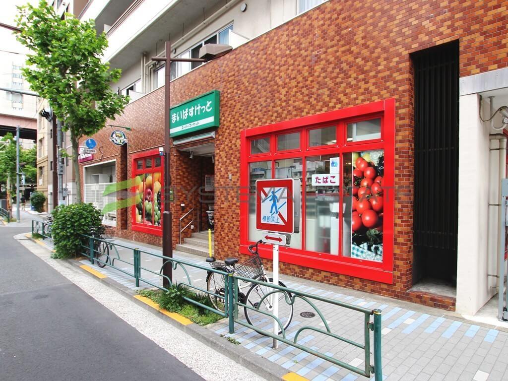 スーパー:まいばすけっと 清洲橋西店 418m