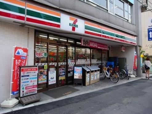 コンビ二:セブンイレブン 東中野駅南店 364m