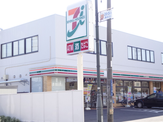 コンビ二:セブンイレブン 柏逆井店 341m