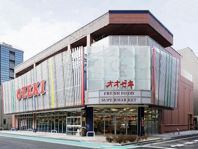 スーパー:オオゼキ 菊川店 357m