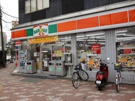 コンビ二:サンクス 菊川駅前店 162m