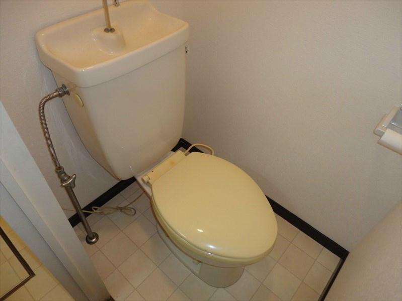 ご契約後に温水洗浄便座へお取替えさせていただきます。