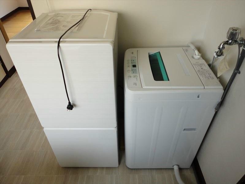 冷蔵庫洗濯機付き