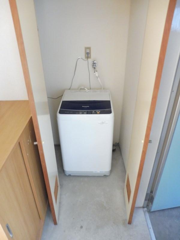 洗濯機付き