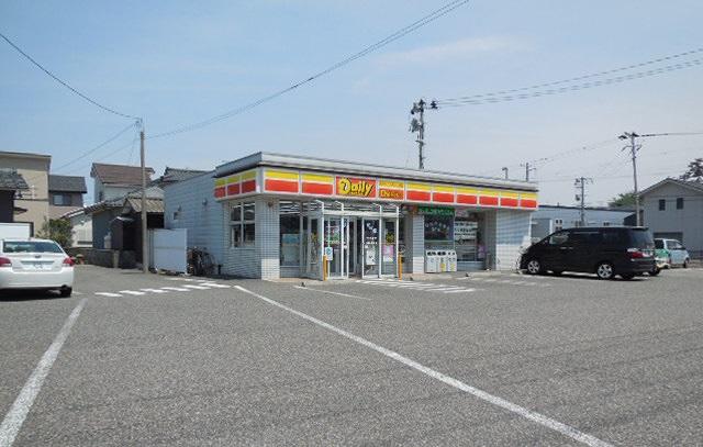 コンビ二:デイリーヤマザキ五十嵐東店 518m
