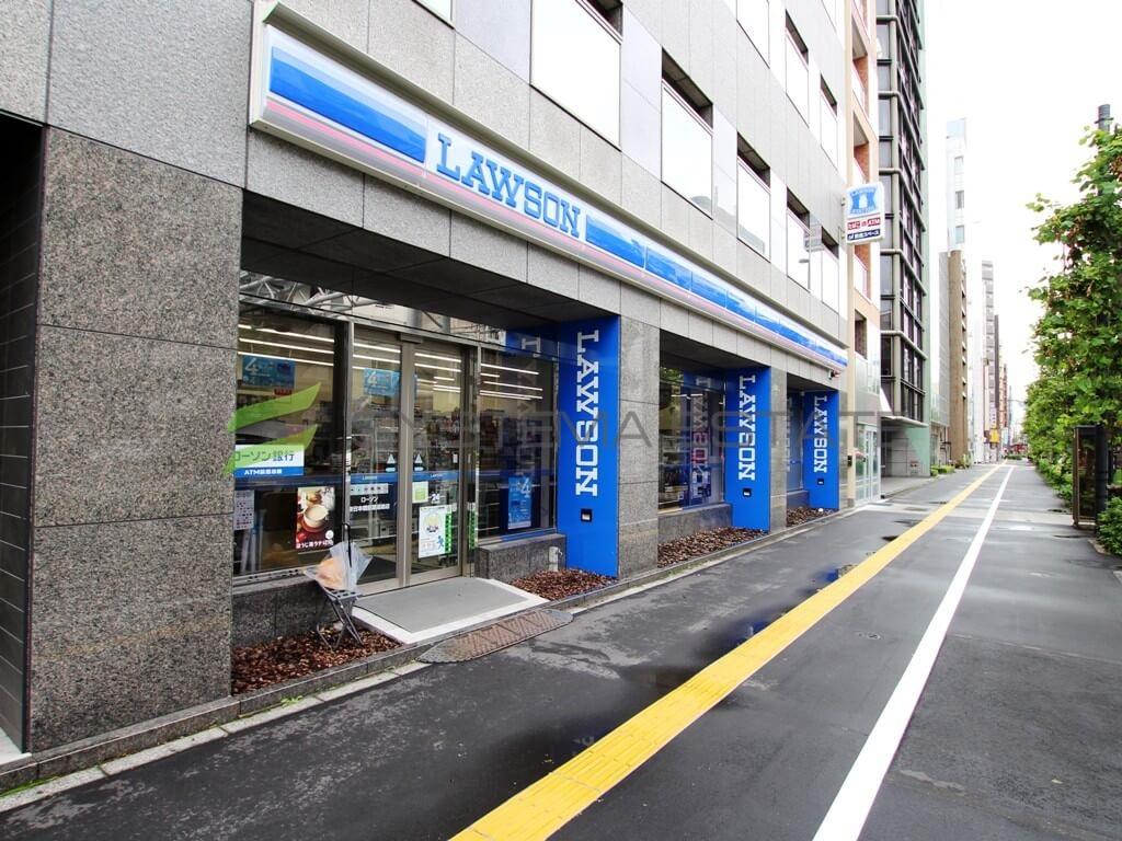 コンビ二:ローソン 東日本橋京葉道路店 154m