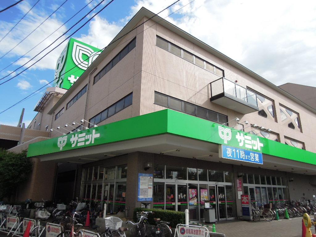 スーパー:サミットストア 砧店 895m