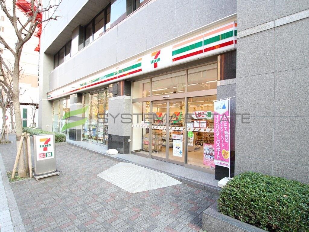 コンビ二:セブン-イレブン日本橋人形町2丁目店 210m
