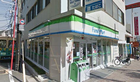 コンビ二:ファミリーマート 大鳥神社前店 300m