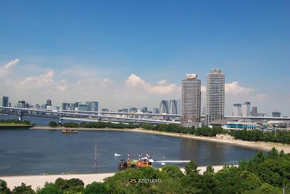 公園:お台場海浜公園 5146m