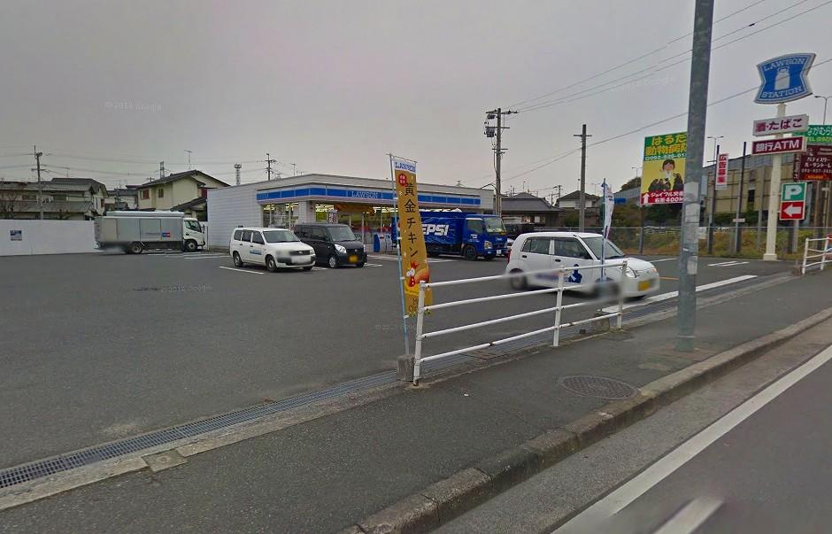 コンビ二:ローソン 筑紫野筑紫店 477m