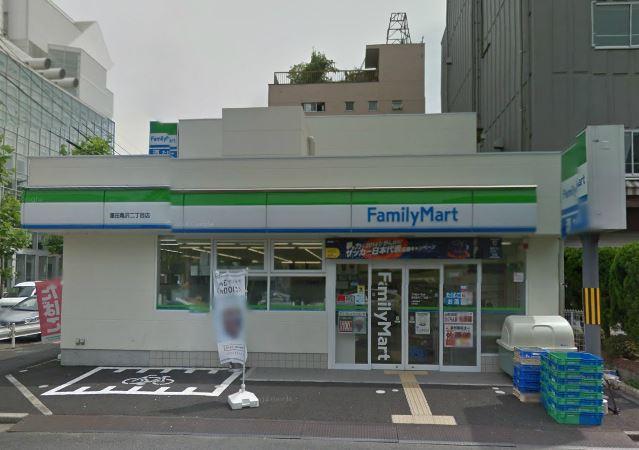 コンビ二:ファミリーマート 墨田亀沢二丁目店 263m
