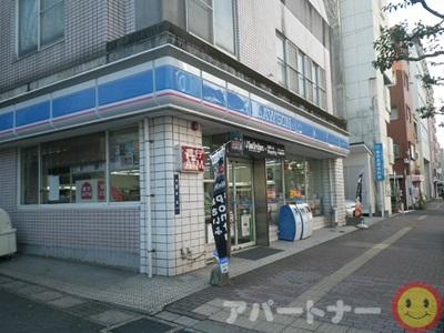 コンビ二:ローソン 鹿児島松原町店 556m