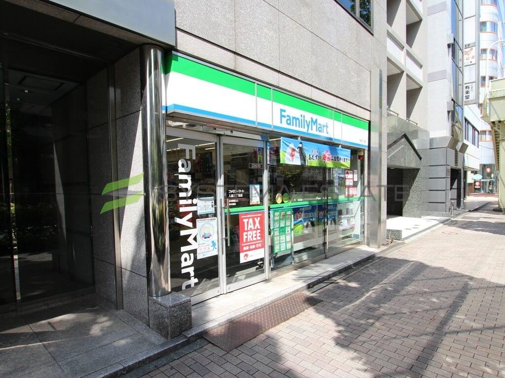コンビ二:ファミリーマート 入船三丁目店 179m