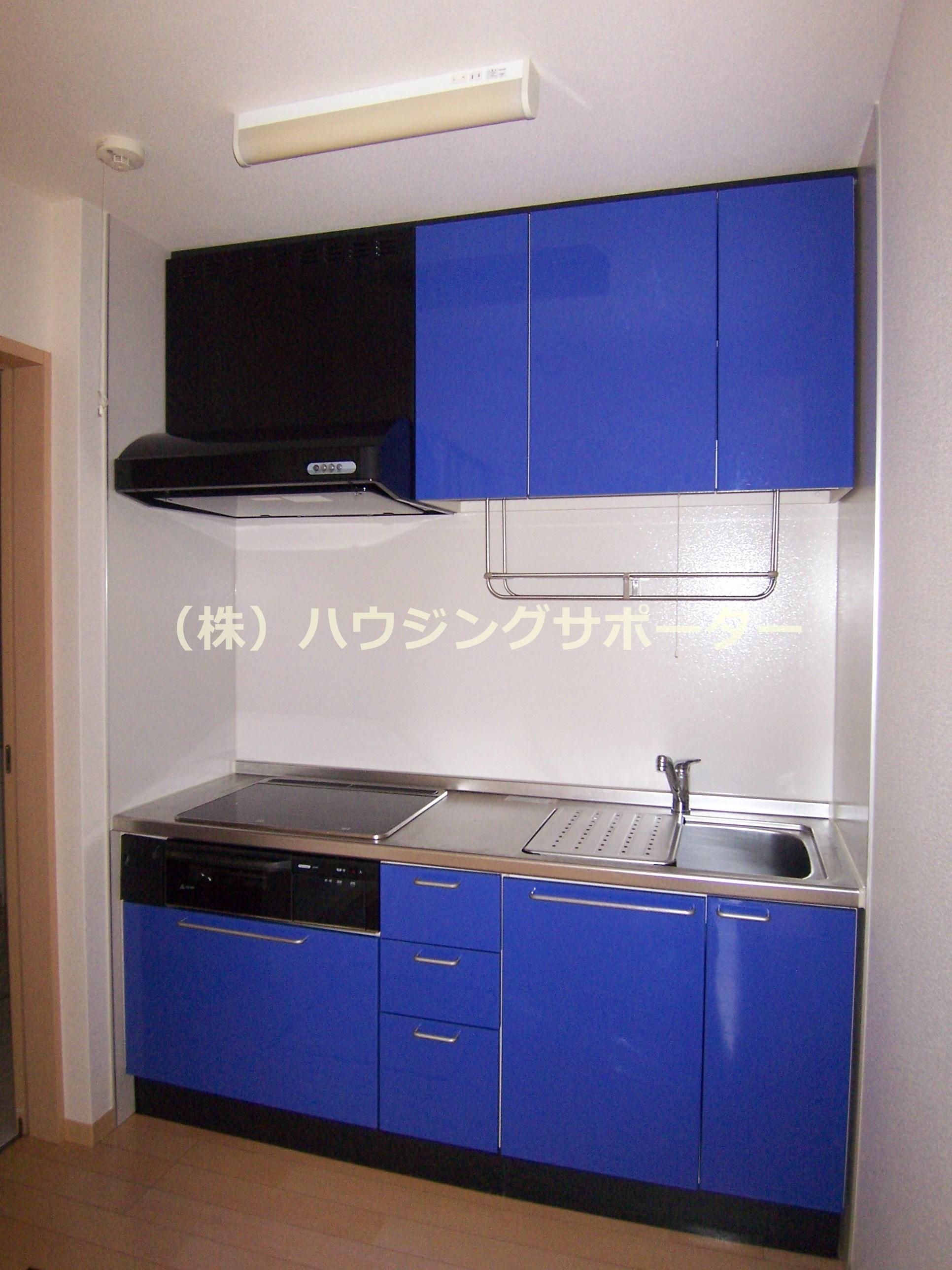 IHコンロのシステムキッチンです