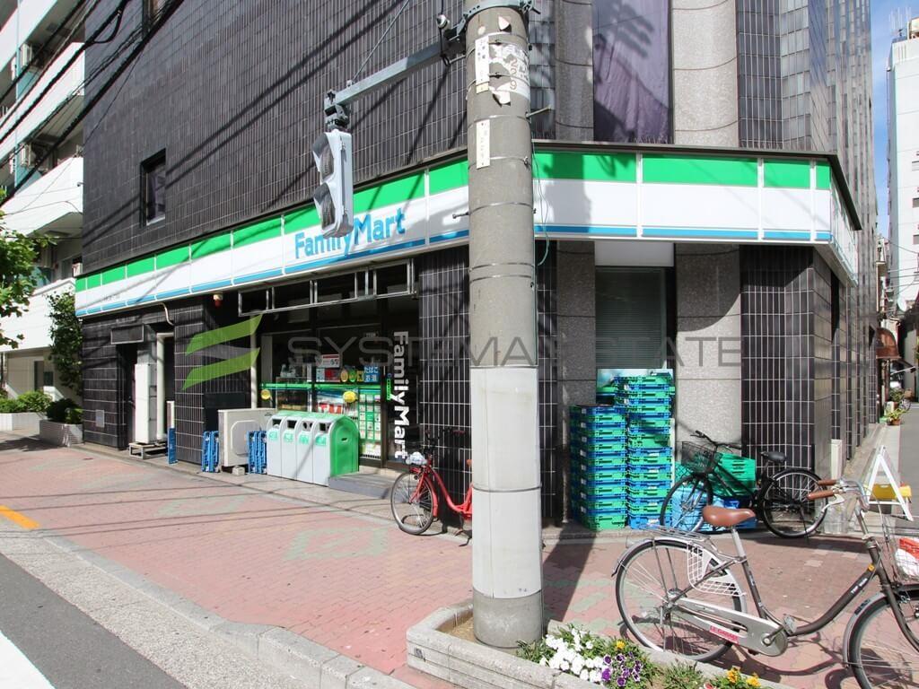 コンビ二:ファミリーマート 台東三筋一丁目店 258m