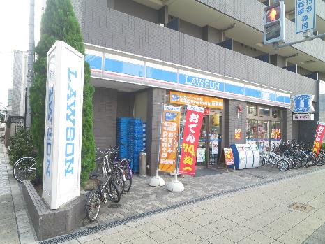 コンビ二:ローソン 日本橋四丁目店 212m