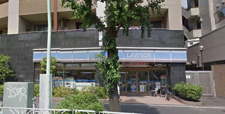 コンビ二:ローソン 代々木西参道店 5m 近隣