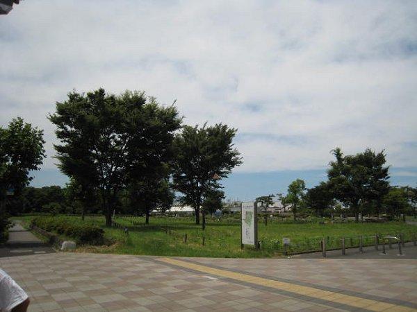 公園:舎人公園 646m