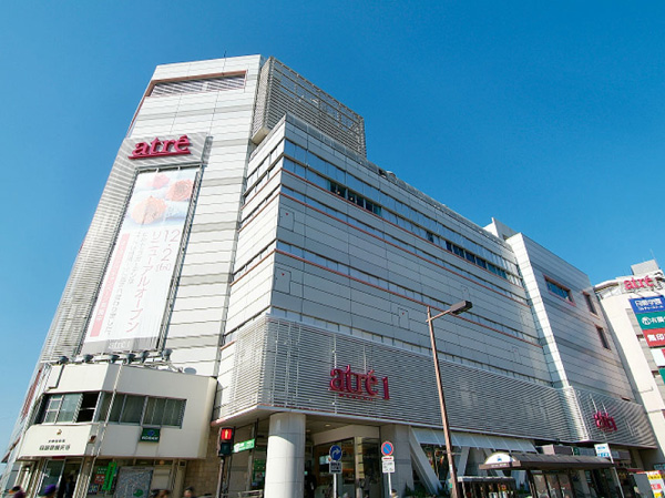 ショッピング施設:アトレ目黒 20m