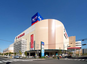 ショッピング施設:西新井アリオ 922m