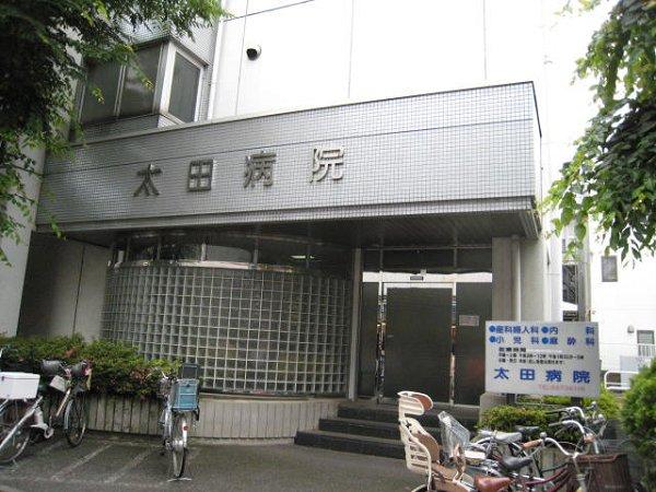 内科:太田病院 868m