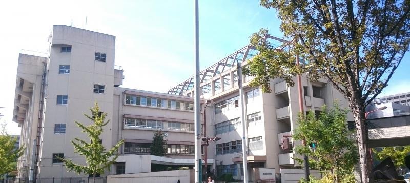 中学校:博多中学校 450m