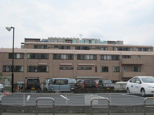 内科:苑田第三病院 467m